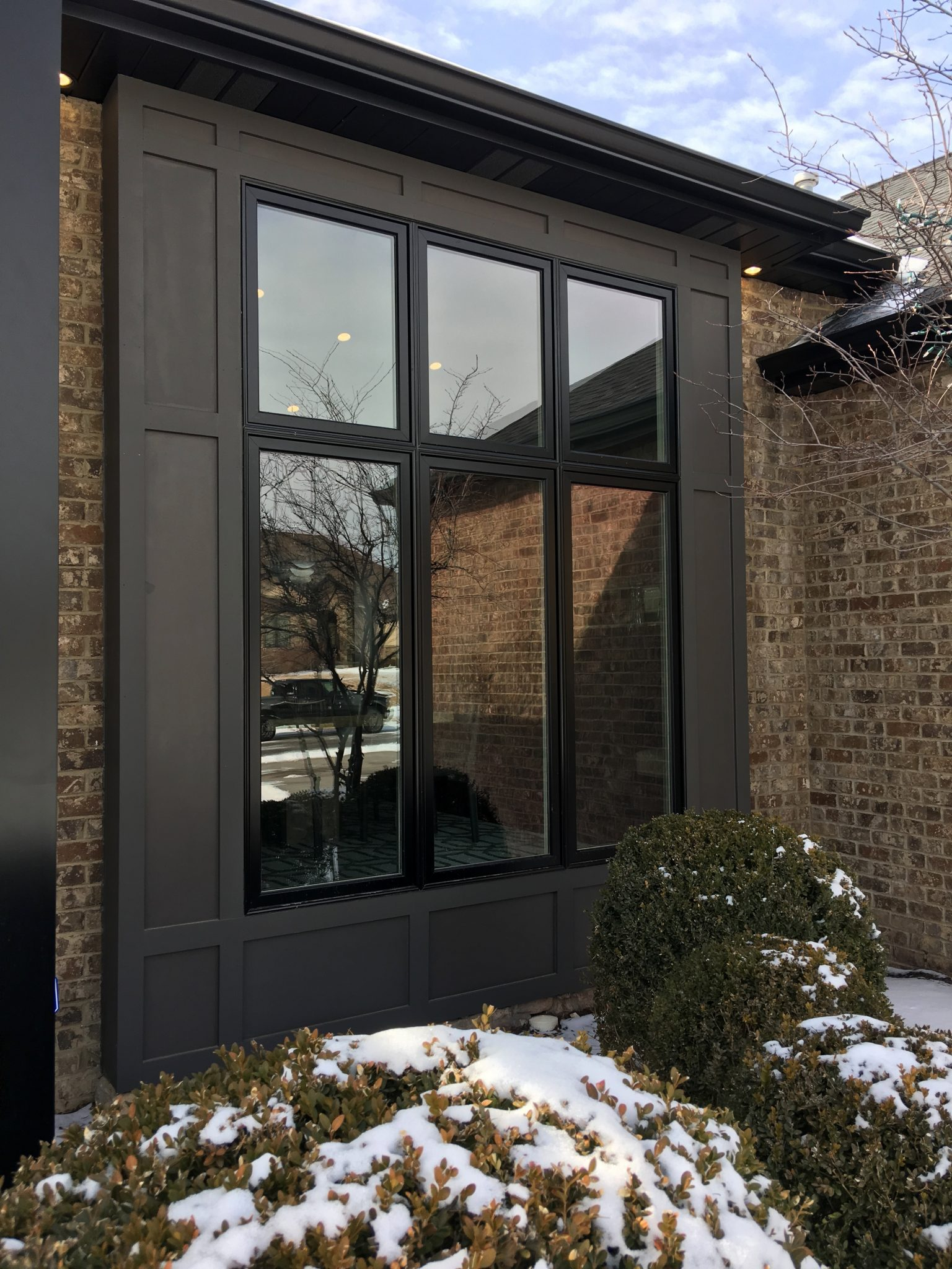 after we replaced windows in this lincoln home it is beautiful